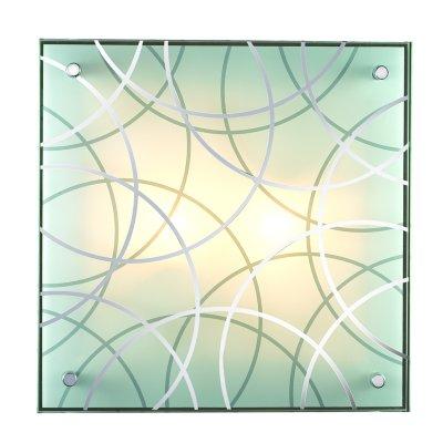 Сонекс OMAKA 2204 настенно-потолочный светильникКвадратные<br><br><br>Тип лампы: Накаливания / энергосбережения / светодиодная<br>Тип цоколя: E27<br>Количество ламп: 2<br>Ширина, мм: 300<br>MAX мощность ламп, Вт: 60<br>Длина, мм: 300<br>Высота, мм: 105