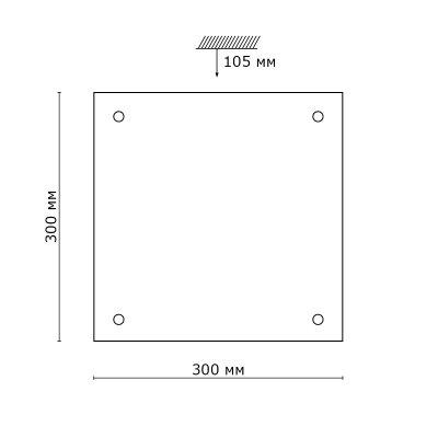 Сонекс NOSTI 2205 настенно-потолочный светильникОжидается<br><br>