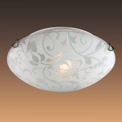 Настенно-потолочный светильник Сонекс 308 белый/бронзовый VUALEКруглые<br>Настенно-потолочные светильники – это универсальные осветительные варианты, которые подходят для вертикального и горизонтального монтажа. В интернет-магазине «Светодом» Вы можете приобрести подобные модели по выгодной стоимости. В нашем каталоге представлены как бюджетные варианты, так и эксклюзивные изделия от производителей, которые уже давно заслужили доверие дизайнеров и простых покупателей.  Настенно-потолочный светильник Сонекс 308 станет прекрасным дополнением к основному освещению. Благодаря качественному исполнению и применению современных технологий при производстве эта модель будет радовать Вас своим привлекательным внешним видом долгое время. Приобрести настенно-потолочный светильник Сонекс 308 можно, находясь в любой точке России.<br><br>S освещ. до, м2: 20<br>Тип лампы: накаливания / энергосбережения / LED-светодиодная<br>Тип цоколя: E27<br>Количество ламп: 3<br>MAX мощность ламп, Вт: 100<br>Диаметр, мм мм: 500<br>Цвет арматуры: бронзовый