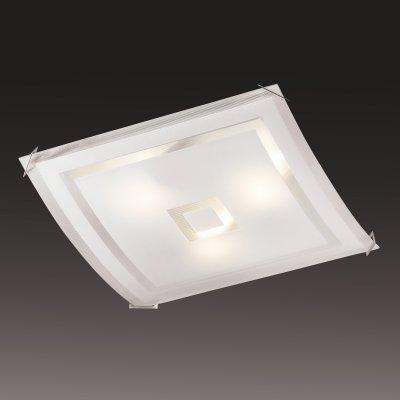 Светильник Сонекс 3120 хром CubeКвадратные<br>Настенно потолочный светильник Сонекс (Sonex) 3120 подходит как для установки в вертикальном положении - на стены, так и для установки в горизонтальном - на потолок. Для установки настенно потолочных светильников на натяжной потолок необходимо использовать светодиодные лампы LED, которые экономнее ламп Ильича (накаливания) в 10 раз, выделяют мало тепла и не дадут расплавиться Вашему потолку.<br><br>S освещ. до, м2: 20<br>Тип лампы: накаливания / энергосбережения / LED-светодиодная<br>Тип цоколя: E27<br>Количество ламп: 3<br>Ширина, мм: 410<br>MAX мощность ламп, Вт: 100<br>Высота, мм: 410<br>Цвет арматуры: серебристый