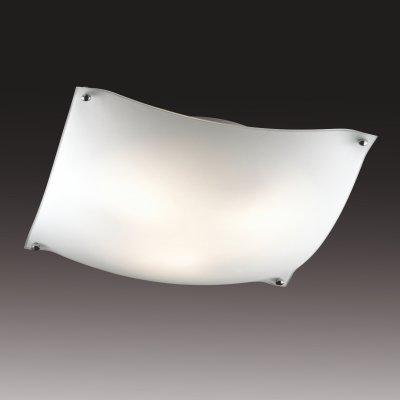 Бра Сонекс 3203 хром/белый RAVIКвадратные<br>Настенно-потолочные светильники – это универсальные осветительные варианты, которые подходят для вертикального и горизонтального монтажа. В интернет-магазине «Светодом» Вы можете приобрести подобные модели по выгодной стоимости. В нашем каталоге представлены как бюджетные варианты, так и эксклюзивные изделия от производителей, которые уже давно заслужили доверие дизайнеров и простых покупателей.  Настенно-потолочный светильник Сонекс 3203 станет прекрасным дополнением к основному освещению. Благодаря качественному исполнению и применению современных технологий при производстве эта модель будет радовать Вас своим привлекательным внешним видом долгое время. Приобрести настенно-потолочный светильник Сонекс 3203 можно, находясь в любой точке России.<br><br>S освещ. до, м2: 12<br>Тип лампы: накаливания / энергосбережения / LED-светодиодная<br>Тип цоколя: E27<br>Количество ламп: 3<br>Ширина, мм: 400<br>MAX мощность ламп, Вт: 60<br>Высота, мм: 400<br>Цвет арматуры: серебристый