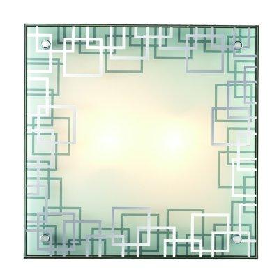 Сонекс NOSTI 3205 настенно-потолочный светильникКвадратные<br><br><br>S освещ. до, м2: 9<br>Тип лампы: Накаливания / энергосбережения / светодиодная<br>Тип цоколя: E27<br>Количество ламп: 3<br>Ширина, мм: 400<br>Длина, мм: 400<br>Высота, мм: 105<br>MAX мощность ламп, Вт: 60