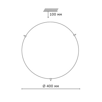 Сонекс SANDI 3209 настенно-потолочный светильникОжидается<br><br>