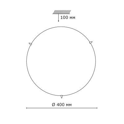 Сонекс MILLE 3215 настенно-потолочный светильникОжидается<br><br>
