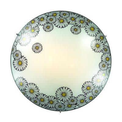 Сонекс MILLE 3215 настенно-потолочный светильникКруглые<br><br><br>Тип лампы: Накаливания / энергосбережения / светодиодная<br>Тип цоколя: E27<br>Количество ламп: 3<br>MAX мощность ламп, Вт: 60<br>Диаметр, мм мм: 400<br>Высота, мм: 100