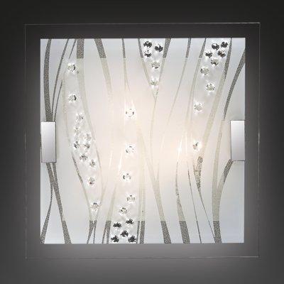 Светильник Сонекс 3227 Kadia белый/хрустальКвадратные<br>Настенно-потолочные светильники – это универсальные осветительные варианты, которые подходят для вертикального и горизонтального монтажа. В интернет-магазине «Светодом» Вы можете приобрести подобные модели по выгодной стоимости. В нашем каталоге представлены как бюджетные варианты, так и эксклюзивные изделия от производителей, которые уже давно заслужили доверие дизайнеров и простых покупателей.  Настенно-потолочный светильник Сонекс 3227 станет прекрасным дополнением к основному освещению. Благодаря качественному исполнению и применению современных технологий при производстве эта модель будет радовать Вас своим привлекательным внешним видом долгое время. Приобрести настенно-потолочный светильник Сонекс 3227 можно, находясь в любой точке России.<br><br>S освещ. до, м2: 12<br>Тип лампы: накаливания / энергосбережения / LED-светодиодная<br>Тип цоколя: E27<br>Количество ламп: 3<br>Ширина, мм: 500<br>MAX мощность ламп, Вт: 60<br>Длина, мм: 500<br>Цвет арматуры: серебристый