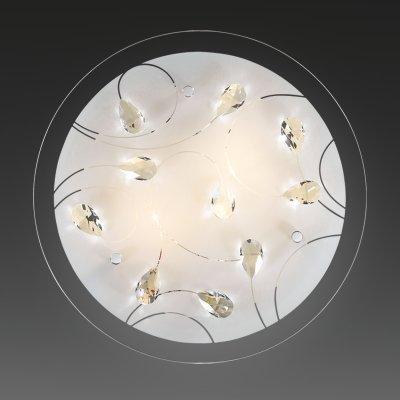 Светильник Сонекс 3233 Vesa белый/хрустальКруглые<br>Настенно-потолочные светильники – это универсальные осветительные варианты, которые подходят для вертикального и горизонтального монтажа. В интернет-магазине «Светодом» Вы можете приобрести подобные модели по выгодной стоимости. В нашем каталоге представлены как бюджетные варианты, так и эксклюзивные изделия от производителей, которые уже давно заслужили доверие дизайнеров и простых покупателей.  Настенно-потолочный светильник Сонекс 3233 станет прекрасным дополнением к основному освещению. Благодаря качественному исполнению и применению современных технологий при производстве эта модель будет радовать Вас своим привлекательным внешним видом долгое время. Приобрести настенно-потолочный светильник Сонекс 3233 можно, находясь в любой точке России.<br><br>S освещ. до, м2: 12<br>Тип лампы: накаливания / энергосбережения / LED-светодиодная<br>Тип цоколя: E27<br>Количество ламп: 3<br>MAX мощность ламп, Вт: 60<br>Диаметр, мм мм: 500<br>Цвет арматуры: серебристый