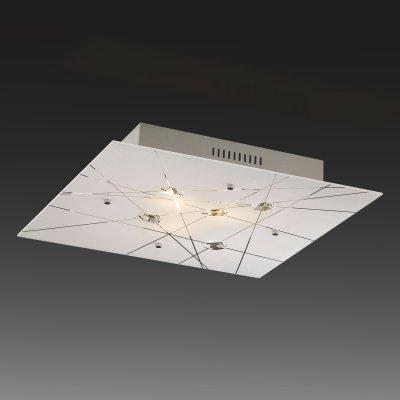 Купить со скидкой Светильник Сонекс 3235 Opeli белый/хрусталь