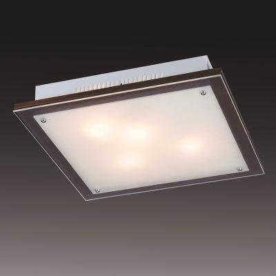 Светильник Сонекс 3242V Ferola Vengue венге/хромКвадратные<br>Настенно-потолочные светильники – это универсальные осветительные варианты, которые подходят для вертикального и горизонтального монтажа. В интернет-магазине «Светодом» Вы можете приобрести подобные модели по выгодной стоимости. В нашем каталоге представлены как бюджетные варианты, так и эксклюзивные изделия от производителей, которые уже давно заслужили доверие дизайнеров и простых покупателей.  Настенно-потолочный светильник Сонекс 3242V станет прекрасным дополнением к основному освещению. Благодаря качественному исполнению и применению современных технологий при производстве эта модель будет радовать Вас своим привлекательным внешним видом долгое время. Приобрести настенно-потолочный светильник Сонекс 3242V можно, находясь в любой точке России.<br><br>S освещ. до, м2: 12<br>Тип лампы: накаливания / энергосбережения / LED-светодиодная<br>Тип цоколя: E27<br>Количество ламп: 3<br>Ширина, мм: 360<br>MAX мощность ламп, Вт: 60<br>Длина, мм: 360<br>Расстояние от стены, мм: 70<br>Цвет арматуры: серебристый
