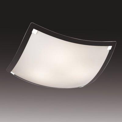 Светильник Сонекс 4226 хром AriaКвадратные<br>Настенно потолочный светильник Сонекс (Sonex) 4226 подходит как для установки в вертикальном положении - на стены, так и для установки в горизонтальном - на потолок. Для установки настенно потолочных светильников на натяжной потолок необходимо использовать светодиодные лампы LED, которые экономнее ламп Ильича (накаливания) в 10 раз, выделяют мало тепла и не дадут расплавиться Вашему потолку.<br><br>S освещ. до, м2: 16<br>Тип лампы: накаливания / энергосбережения / LED-светодиодная<br>Тип цоколя: E27<br>Цвет арматуры: серебристый<br>Количество ламп: 4<br>Ширина, мм: 550<br>Высота, мм: 550<br>MAX мощность ламп, Вт: 60