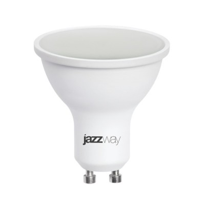 Jazzway PLED-SP GU10 7w 5000K 230ВЗеркальные Gu10<br>В интернет-магазине «Светодом» можно купить не только люстры и светильники, но и лампочки. В нашем каталоге представлены светодиодные, галогенные, энергосберегающие модели и лампы накаливания. В ассортименте имеются изделия разной мощности, поэтому у нас Вы сможете приобрести все необходимое для освещения.   Лампа Jazzway PLED-SP GU10 7w 5000K 230В обеспечит отличное качество освещения. При покупке ознакомьтесь с параметрами в разделе «Характеристики», чтобы не ошибиться в выборе. Там же указано, для каких осветительных приборов Вы можете использовать лампу Jazzway PLED-SP GU10 7w 5000K 230ВJazzway PLED-SP GU10 7w 5000K 230В.   Для оформления покупки воспользуйтесь «Корзиной». При наличии вопросов Вы можете позвонить нашим менеджерам по одному из контактных номеров. Мы доставляем заказы в Москву, Екатеринбург и другие города России.<br><br>Цветовая t, К: CW - дневной белый 6000 К<br>Тип лампы: LED - светодиодная<br>Тип цоколя: GU10<br>MAX мощность ламп, Вт: 520<br>Диаметр, мм мм: 50<br>Высота, мм: 55