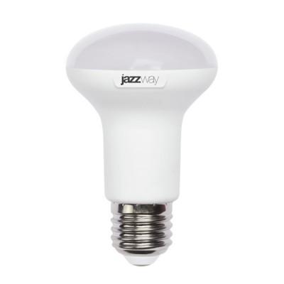 Лампа зеркальная LED Jazzway PLED-SP R63 8w 3000K E27Зеркальные E27, E14<br>В интернет-магазине «Светодом» можно купить не только люстры и светильники, но и лампочки. В нашем каталоге представлены светодиодные, галогенные, энергосберегающие модели и лампы накаливания. В ассортименте имеются изделия разной мощности, поэтому у нас Вы сможете приобрести все необходимое для освещения.   Лампа зеркальная LED Jazzway PLED-SP R63 8w 3000K E27 обеспечит отличное качество освещения. При покупке ознакомьтесь с параметрами в разделе «Характеристики», чтобы не ошибиться в выборе. Там же указано, для каких осветительных приборов Вы можете использовать лампу зеркальная LED Jazzway PLED-SP R63 8w 3000K E27зеркальная LED Jazzway PLED-SP R63 8w 3000K E27.   Для оформления покупки воспользуйтесь «Корзиной». При наличии вопросов Вы можете позвонить нашим менеджерам по одному из контактных номеров. Мы доставляем заказы в Москву, Екатеринбург и другие города России.<br><br>Цветовая t, К: WW - теплый белый 2700-3000 К<br>Тип лампы: LED - светодиодная<br>Тип цоколя: E27<br>Диаметр, мм мм: 63<br>Высота, мм: 102<br>MAX мощность ламп, Вт: 8