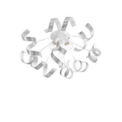 Потолочный светильник Ideal Lux VORTEX PL3 ARGENTOлюстры хай тек потолочные<br>Компания «Светодом» предлагает широкий ассортимент люстр от известных производителей. Представленные в нашем каталоге товары выполнены из современных материалов и обладают отличным качеством. Благодаря широкому ассортименту Вы сможете найти у нас люстру под любой интерьер. Мы предлагаем как классические варианты, так и современные модели, отличающиеся лаконичностью и простотой форм.  Стильная люстра Ideal lux VORTEX PL3 ARGENTO станет украшением любого дома. Эта модель от известного производителя не оставит равнодушным ценителей красивых и оригинальных предметов интерьера. Люстра Ideal lux VORTEX PL3 ARGENTO обеспечит равномерное распределение света по всей комнате. При выборе обратите внимание на характеристики, позволяющие приобрести наиболее подходящую модель. Купить понравившуюся люстру по доступной цене Вы можете в интернет-магазине «Светодом». Мы предлагаем доставку не только по Москве и Екатеринбурге, но и по всей России.<br><br>Установка на натяжной потолок: Да<br>S освещ. до, м2: 6<br>Тип цоколя: E14<br>Количество ламп: 3<br>Диаметр, мм мм: 560<br>Высота, мм: 260<br>MAX мощность ламп, Вт: 40