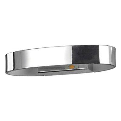 Светильник бра Ideal Lux ZED AP1 OVAL CROMOБра хай тек стиля<br>В интернет-магазине «Светодом» представлен широкий выбор настенных бра по привлекательной цене. Это качественные товары от популярных мировых производителей. Благодаря большому ассортименту Вы обязательно подберете под свой интерьер наиболее подходящий вариант.  Оригинальное настенное бра Ideal lux ZED AP1 OVAL CROMO можно использовать для освещения не только гостиной, но и прихожей или спальни. Модель выполнена из современных материалов, поэтому прослужит на протяжении долгого времени. Обратите внимание на технические характеристики, чтобы сделать правильный выбор.  Чтобы купить настенное бра Ideal lux ZED AP1 OVAL CROMO в нашем интернет-магазине, воспользуйтесь «Корзиной» или позвоните менеджерам компании «Светодом» по указанным на сайте номерам. Мы доставляем заказы по Москве, Екатеринбургу и другим российским городам.<br><br>Тип цоколя: LED<br>Количество ламп: 1<br>Диаметр, мм мм: 130<br>Высота, мм: 120<br>MAX мощность ламп, Вт: 5
