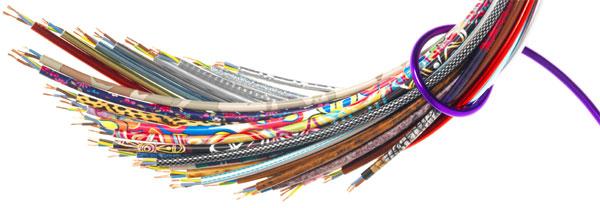 Цветной кабель для светильников и акустики
