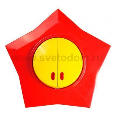 Розетки и выключатели разноцветные для детских комнат