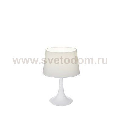 Настольная лампа Ideal Lux LONDON TL1 SMALL BIANCO