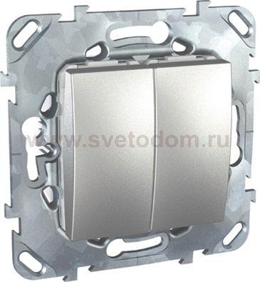Unica Top Алюминий Выключатель карточный c задержкой отключения MGU5.540.30ZD.  445.