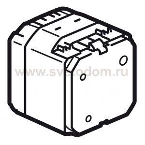Переключатель Legrand Celiane на 2 направления сенсорный с нейтрайлью 1000Вт.  Позволяет включать,выключать или...