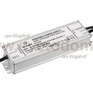 Блок питания ARPV-UH24200-PFC-DALI-PH (24V, 8.3A, 200W) Arlight 28108