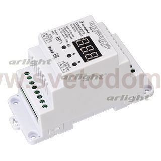 Конвертер SMART-K29-DMX512 (230V, 1x2A, TRIAC, DIN) Arlight 27131