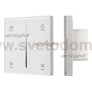 Панель Sens SMART-P35-DIM White (230V, 0/1-10V) Arlight 27112