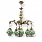 Люстра Exotic lamp 03481-39S Fortue