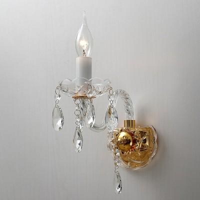 Настенный светильник Favourite 1735-1W MonrealХрустальные<br>Выбирая модель светильника Favourite 1735-1W, обратите внимание, что арматура золотого цвета, хрусталь высшего качества и стеклянные рожки и блюдца прозрачного цвета. Дополнительная информация в характеристиках или по телефону.<br><br>Тип цоколя: E14<br>Количество ламп: 1<br>Ширина, мм: 210<br>Размеры: D120*H330*W210<br>Длина, мм: 120<br>Высота, мм: 330<br>Общая мощность, Вт: 40W
