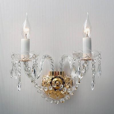 Настенный светильник Favourite 1735-2W MonrealХрустальные<br>Выбирая модель светильника Favourite 1735-2W, обратите внимание, что арматура золотого цвета, хрусталь высшего качества и стеклянные рожки и блюдца прозрачного цвета. Дополнительная информация в характеристиках или по телефону.<br><br>Тип товара: настенный светильник<br>Тип цоколя: E14<br>Количество ламп: 2<br>Ширина, мм: 240<br>Размеры: D470*H300*W240<br>Длина, мм: 470<br>Высота, мм: 300<br>Общая мощность, Вт: 40W