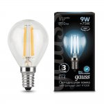 Лампа Gauss LED Filament Шар E14 9W 710lm 4100K (105801209)