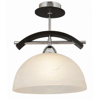 Подвес Lamplandia 5558-1 DaveПотолочные<br>Вид светильника: потолочный<br>Размер: 25 x 25 x 28<br>Мощность: 1*E27*60W<br>Материал: Металл, Стекло<br><br>Установка на натяжной потолок: Да<br>S освещ. до, м2: 1<br>Крепление: Планка<br>Тип товара: Подвесной светильник<br>Тип лампы: Накаливания / энергосбережения / светодиодная<br>Тип цоколя: E27<br>Количество ламп: 1<br>MAX мощность ламп, Вт: 60<br>Диаметр, мм мм: 250<br>Высота, мм: 280<br>Цвет арматуры: серебристый