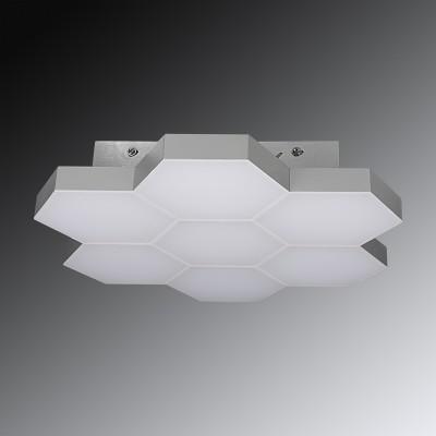 Lightstar FAVO 750074 ЛюстраПотолочные<br><br><br>Установка на натяжной потолок: Да<br>Крепление: Планка<br>Тип товара: Люстра<br>Тип цоколя: led<br>Количество ламп: LED-35W<br>MAX мощность ламп, Вт: LED-35<br>Оттенок (цвет): серебро
