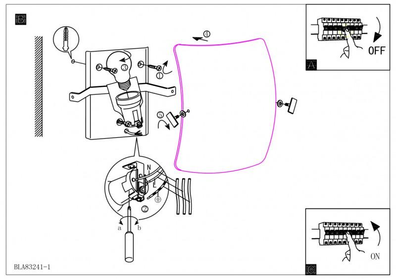 Инструкции по монтажу светильников