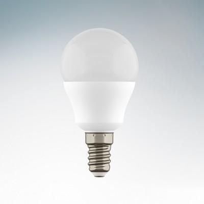 Светильник Lightstar 940802Светодиодные лампы LED с цоколем E27<br>Тип: Светодиодная лампа; Напряжение (V): 220; Тип колбы: G45 - шарик, диаметр колбы 45мм; Цоколь: E14; Мощность (W): 7; Эквивалентная мощность лампы накаливания (W): 70; Угол рассеивания (G): 180; Световой поток: 350LM; Особенности (Опции): матовое стекло; Цветопередача: 85; Цветовая температура (К): 3000; Срок службы (Ч): 20000; Диммируемость: нет;<br><br>Цветовая t, К: 3000<br>Тип лампы: LED<br>Тип цоколя: E14<br>Диаметр, мм мм: 46<br>Высота, мм: 87<br>MAX мощность ламп, Вт: 7