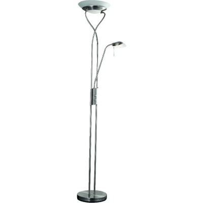 Торшер с подсветкой Arte lamp A4399PN-2SS DUETTO