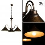 Люстра Arte lamp A9330LM-3BR Cone