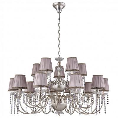 Люстра Crystal lux ALEGRIA SP10+5 SILVER-BROWN 1040/315люстры подвесные классические<br><br><br>Установка на натяжной потолок: Да<br>S освещ. до, м2: 45<br>Тип цоколя: E14<br>Цвет арматуры: Серебристый, патина коричневая<br>Количество ламп: 15<br>Диаметр, мм мм: 1084<br>Длина цепи/провода, мм: 1340<br>Высота, мм: 640<br>MAX мощность ламп, Вт: 60