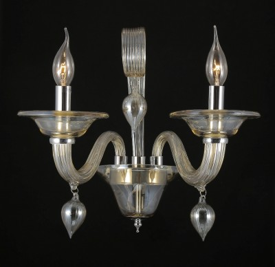 Светильник настенный бра Crystal lux CAETANO AP2 1290/402современные бра модерн<br><br><br>Тип цоколя: E14<br>Цвет арматуры: Серебристый хром /Светло-коньячный<br>Количество ламп: 2<br>Ширина, мм: 260<br>Длина, мм: 400<br>Высота, мм: 350<br>MAX мощность ламп, Вт: 60