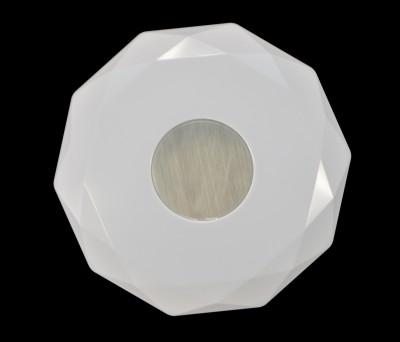 Сонекс PIOLA 2013/B настенно-потолочный светильникКруглые<br><br><br>Цветовая t, К: 4000<br>Тип лампы: LED<br>Тип цоколя: LED<br>MAX мощность ламп, Вт: 24<br>Диаметр, мм мм: 360<br>Высота, мм: 68