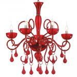 Люстра Ideal Lux LILLY SP5 ROSSO