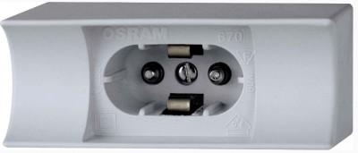 Патрон для лампы OSRAM 670 FASSUNG S14dПатроны для ламп<br><br><br>Ширина, мм: 34<br>Длина, мм: 82<br>Высота, мм: 46