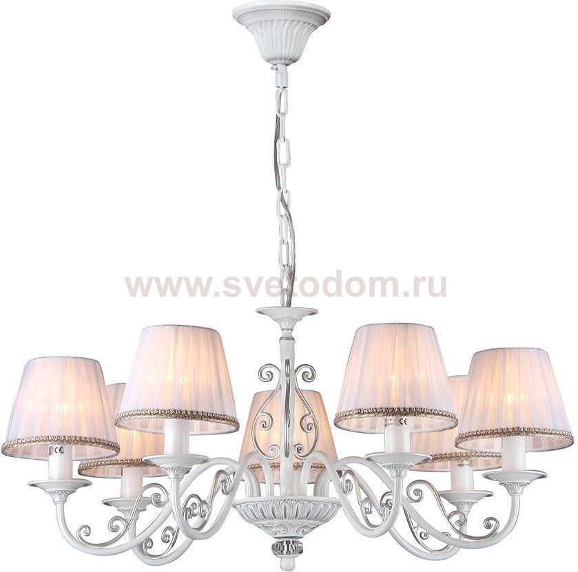 Люстра Maytoni ARM290-07-W Elegant Sunrise