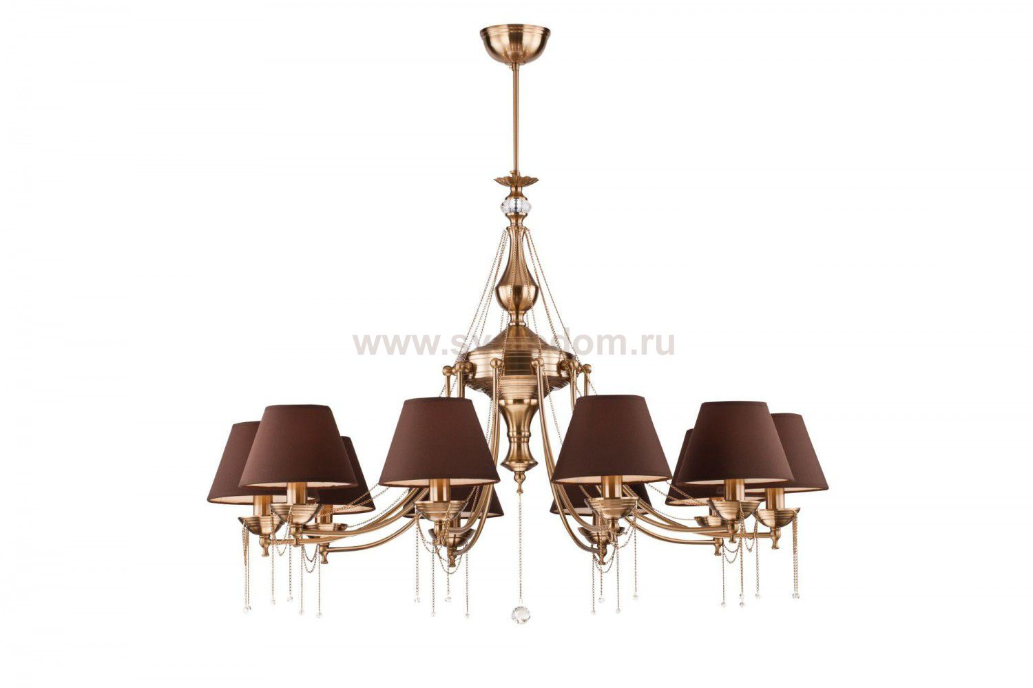 Люстра Maytoni CL0100-10-R Classic Chester