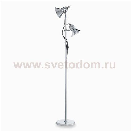 Торшер Ideal lux POLLY PT2 CROMO (61122)