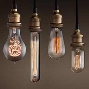 Лампы Эдиссона ретро стиля