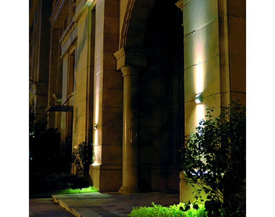 Архитектурная подсветка зданий фото