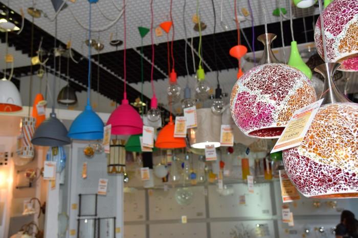 Выставочный зал светильников в Екатеринбурге